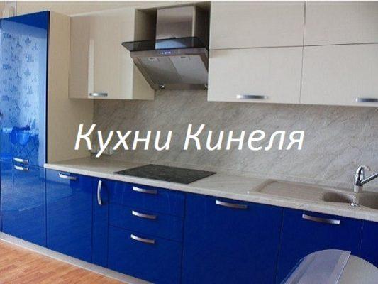 кухня на заказ в Самаре со встроенным холодильником