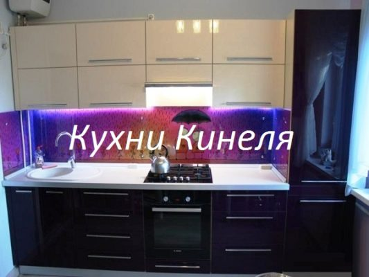 кухня в самаре на заказ со встроенным холодильником